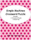 Simple Machines Crossword Puzzle