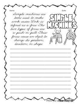 Simple Machines Curisve