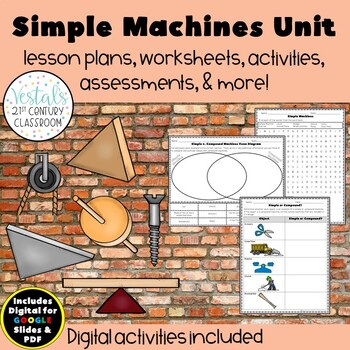 Simple Machines {Digital & PDF Included}