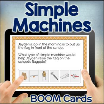 Simple Machines Digital Task Cards BOOM CARDS