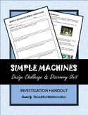 Simple Machines Design Challenge and Discovery Unit