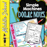 Simple Machines Doodle Notes | Science Doodle Notes