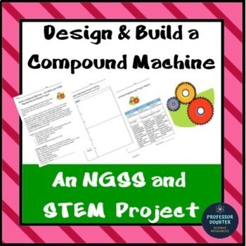 NGSS Simple Machines Design and Engineering Project 3-5-ET