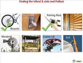 Simple Machines: Finding the Wheel & Axle and Pulleys - PC Gr. 5-8