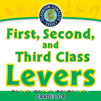 Simple Machines: First, Second, and Third Class Levers - M
