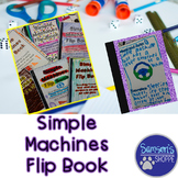 Simple Machines Flip Book Review Activity