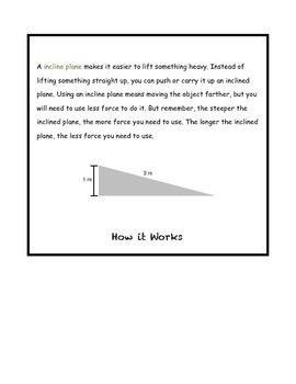 Simple Machines Flip Books
