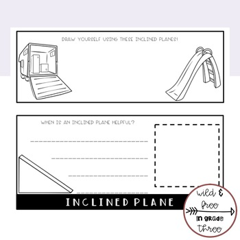 Simple Machines Flipbook with Cut & Paste Definitions