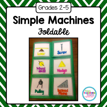 Simple Machines Foldable