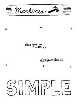 Doodle Notes - Simple Machines Interactive Notebook Foldable by Science Doodles