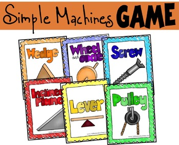 Simple Machines GAME (K-5th)