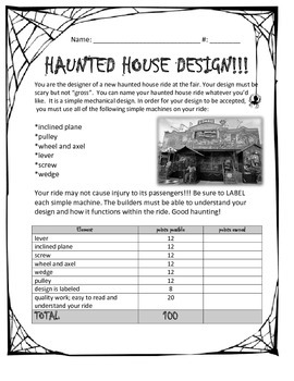 Simple Machines Haunted House