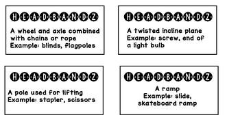 Simple Machines Headbandz Game Cards
