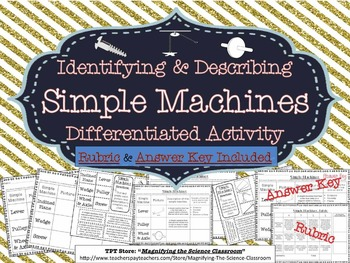 Simple Machines - Identifying and Describing Differentiate