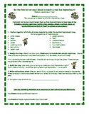 Simple Machines Info Sheet & Leprechaun Trap Project