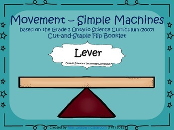Simple Machines - Interactive Flipbook - Lever