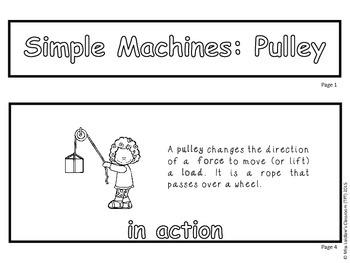 Simple Machines - Interactive Flipbook - Pulley