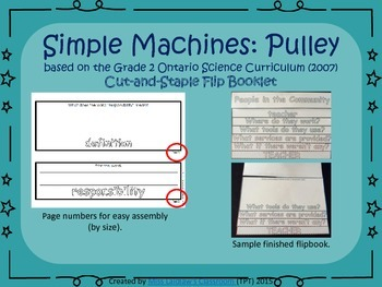 Simple Machines - Interactive Flipbook - Pulley