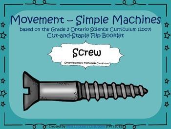 Simple Machines - Interactive Flipbook - Screw