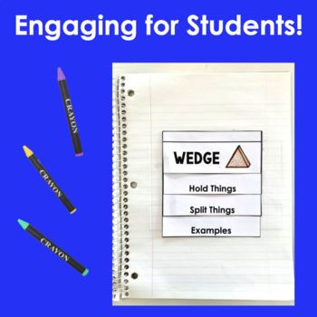 Simple Machines- Interactive Notebook Pages