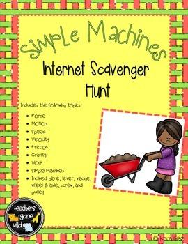 Simple Machines Internet Scavenger Hunt