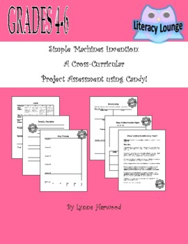 Simple Machines Invention Cross Curricular Project
