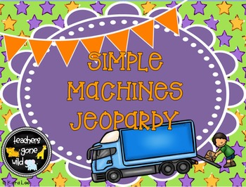 Simple Machines Jeopardy