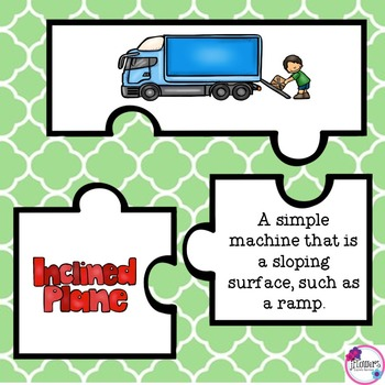 Simple Machines Jigsaw Puzzles Great for Review