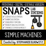 Simple Machines Lab Stations Activity - Printable & Digital