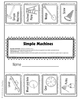 Simple Machines Language Arts BUNDLE