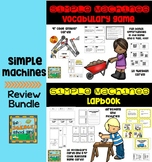 Simple Machines  Lapbook and Vocabulary Games Bundle