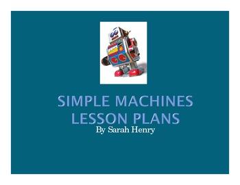 Simple Machines Lesson Plans