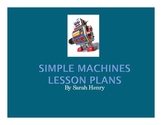 Simple Machines Lesson Plans
