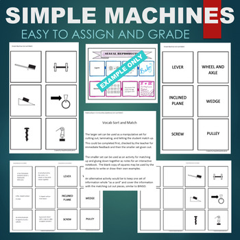 Simple Machine Lever Worksheets & Teaching Resources | TpT