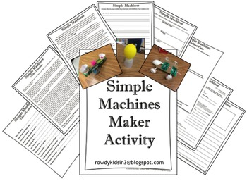 Simple Machines Maker Activity