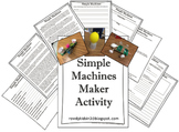 Simple Machines Maker Activity