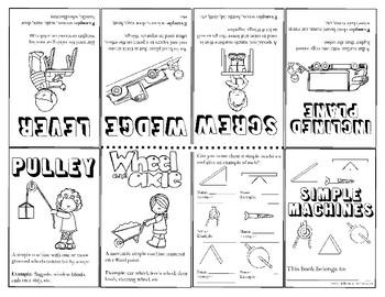Simple Machines Mini Book (K-5th Grade)