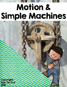 Simple Machines & Motion Vocabulary Sort