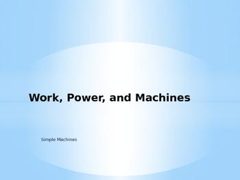 Simple Machines Notes