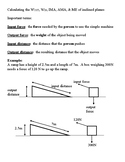 Simple Machines - Notes & Problems