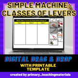 Simple Machines: Digital Sorting of Three Classes of Levers (with printables)