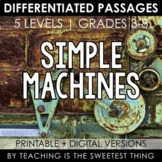 Simple Machines: Passages - Distance Learning Compatible