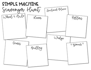 Simple Machines Pocket Foldable