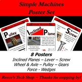 Simple Machines Poster Set