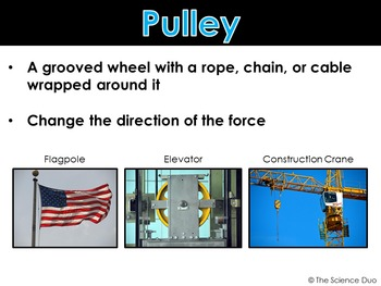 Simple Machines - PowerPoint and Notes
