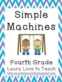 Simple Machines Printables Grades 3-5
