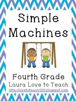 Simple Machines Printables Grades 3-5