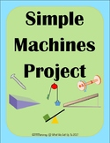 Simple Machines Project with Rubric