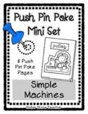 Simple Machines - Push Pin Poke No Prep Printables - 6 Pic