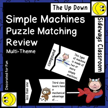 Simple Machines Puzzle Matching Review Game Multi-Theme Edition